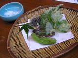 別注 山菜の てんぷら 1575円