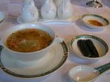 3、干しエビの白菜スープご飯