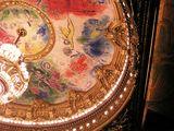 天井のシャガール絵