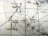 17日午前現在の台風の進路
