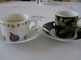 コーヒーとハーブティ