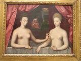 浴槽のガブリエル・デストレ姉妹