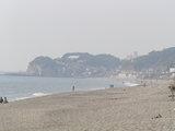 鎌倉 七里ガ浜の海