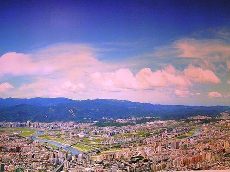 展望台からの景色(絵です!)