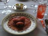 蟹とトマトのローズ仕立て