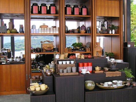 ラルーのお茶の売店