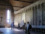 修道院内の食堂