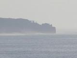 お部屋から見た大島