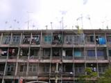 市内の様子 アパート