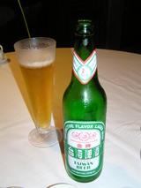 台湾ビールで…