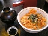 千本一のぬまづ丼(桜海老のかき揚げ)