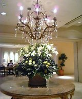 ホテル西洋銀座 ロビー花