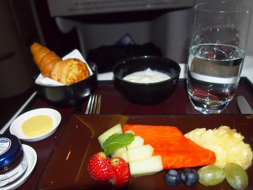 ガルーダ 機内食 洋朝食