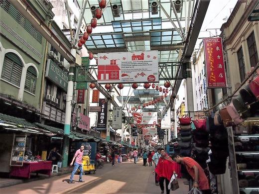 中華街街並み