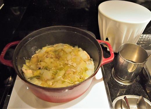 朝食 水炊き
