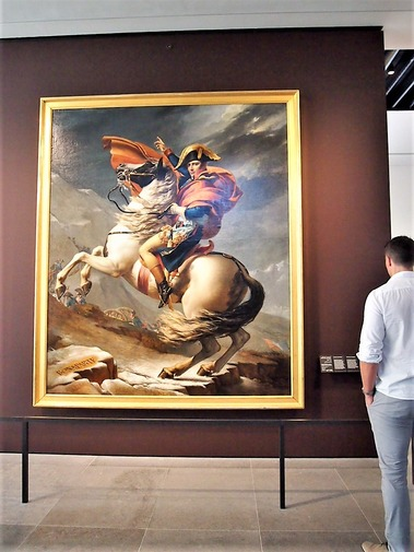 アルプスを越えるナポレオン