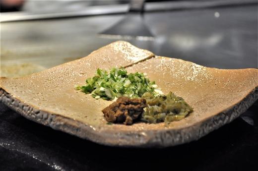 葱とエビ味噌のチャーハン