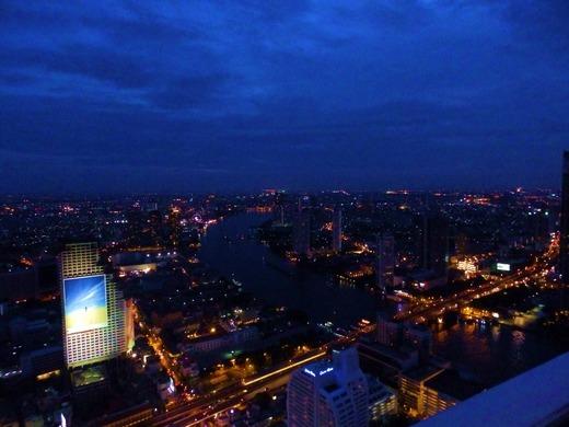 しろっからの眺め、夜景