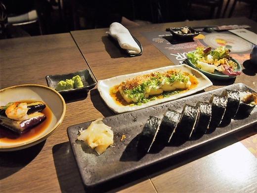 最後の夕食は和食で