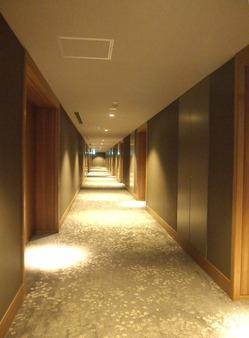 豪華な廊下
