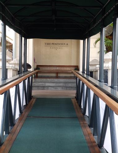 ペニンシュラホテルの桟橋