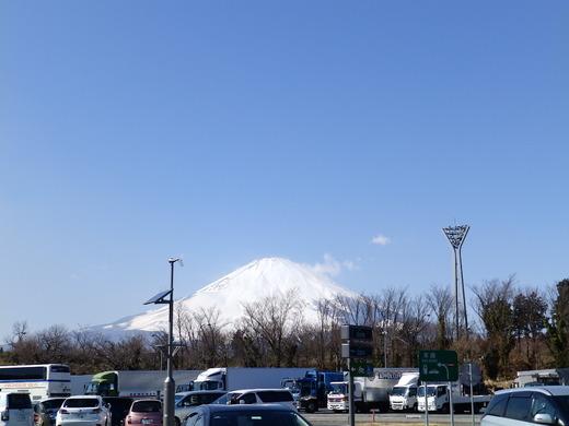 足柄サービスエリア 富士山