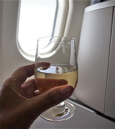 シャンパン、頂きます
