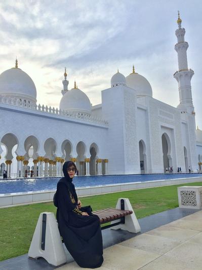 夕暮れのモスク