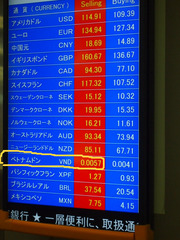 成田空港 レート