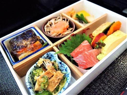 JALビジネスクラス和食、前菜