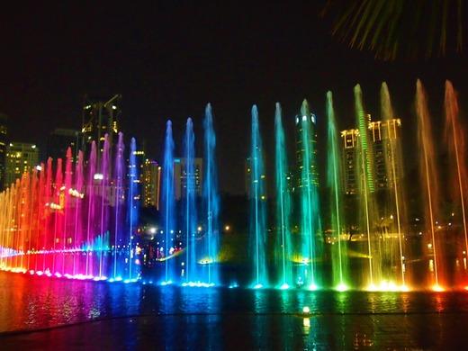 七色の噴水