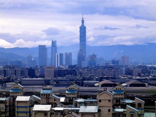 マリオット台北からの眺め