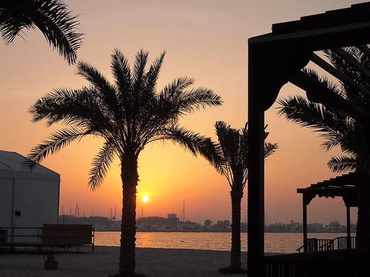 アラビアの夕日