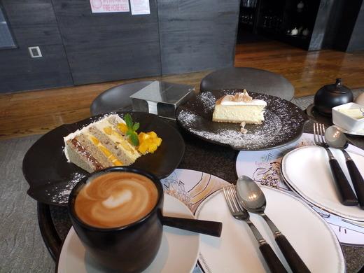 ケーキとドリンク7700円