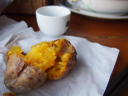大好きな焼き芋