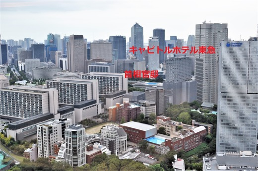 紀尾井町プリンスからの眺め