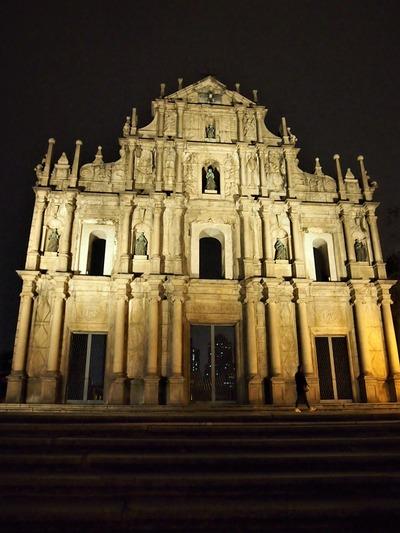聖ポール天主堂 ファサード