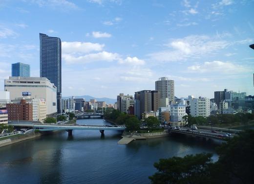 JALシティ広島からの景色