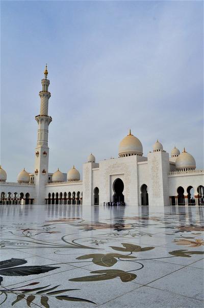モスク 中庭