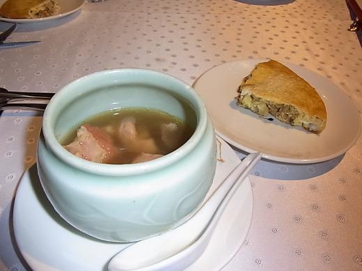 スープとオムレツ