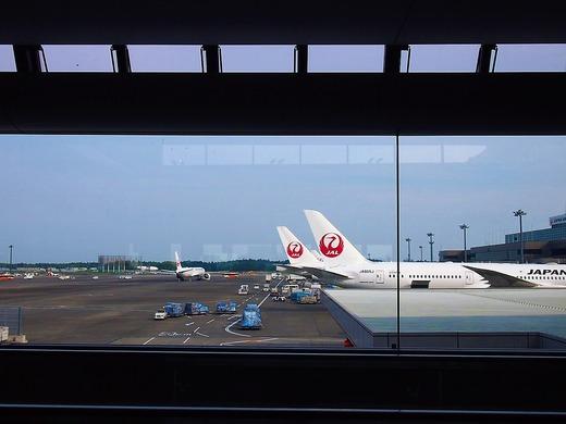 JALで行きます