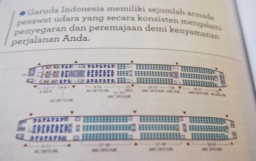 B777シートマップ
