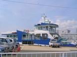 大津島行きフェリー