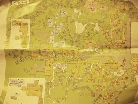 三養荘 敷地図