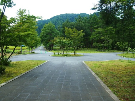 お宿への道