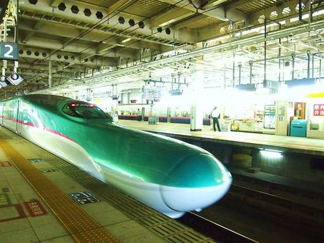 東北新幹線、はやぶさ