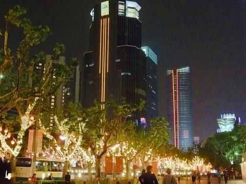 夜の南京西路