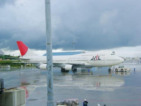 雨上がりの那覇空港