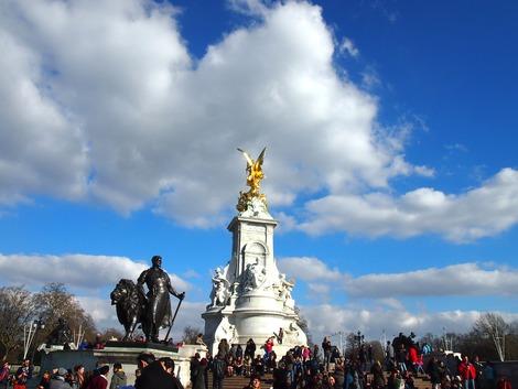 バッキンガム宮殿前広場