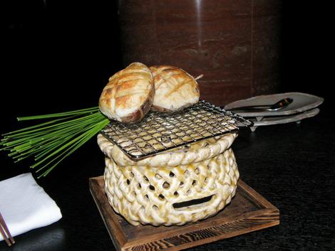 海老芋と鮑